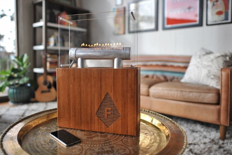 Heinrich Rubens's wireless Fireside Audiobox
