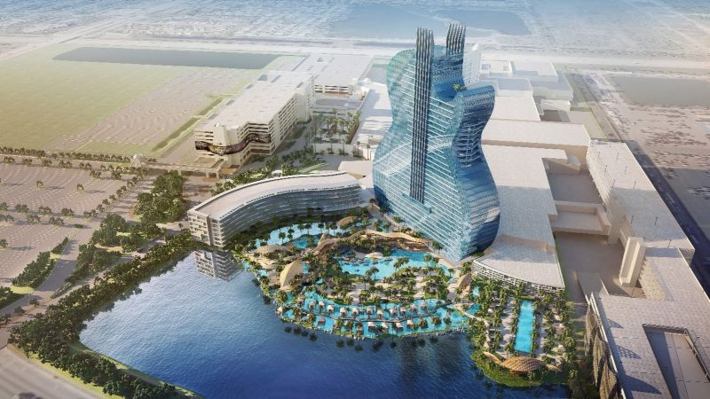 Guitar-shaped hotel tower destined to be the next big attraction in Hollywood