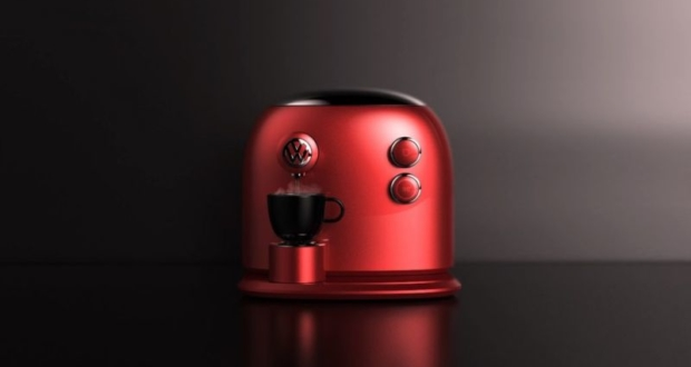 Jarim Koo designs Volkswagen coffee machine for JCT600