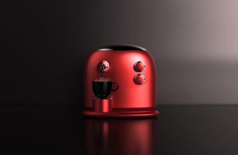 Jarim Koo designs Volkswagen coffee machine for JCT600