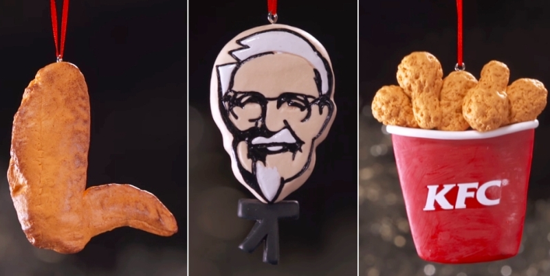 Kfc decoration for christmas