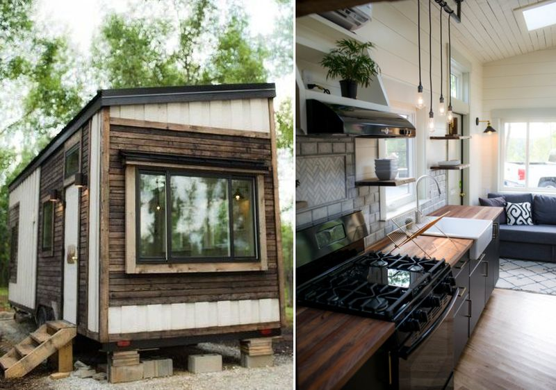 Legacy tiny house by Colton Ronzio is ready to move right in