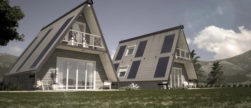 M.A.Di flat-pack cabin can be built in just six hours, costs $33,000
