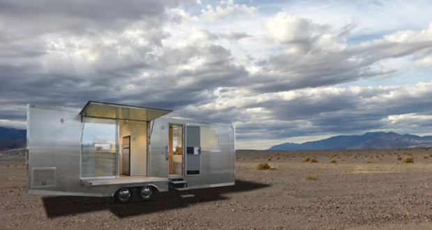 Matthew Hofmann's Living Vehicle off-grid tiny home is full of smart features