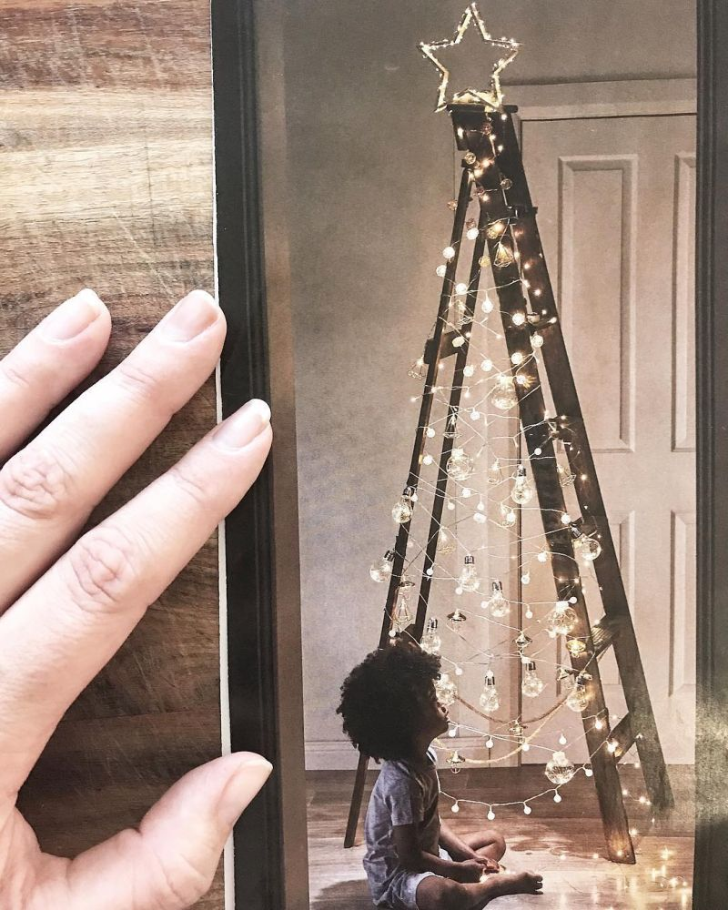 People are ditching real trees for ladder Christmas trees