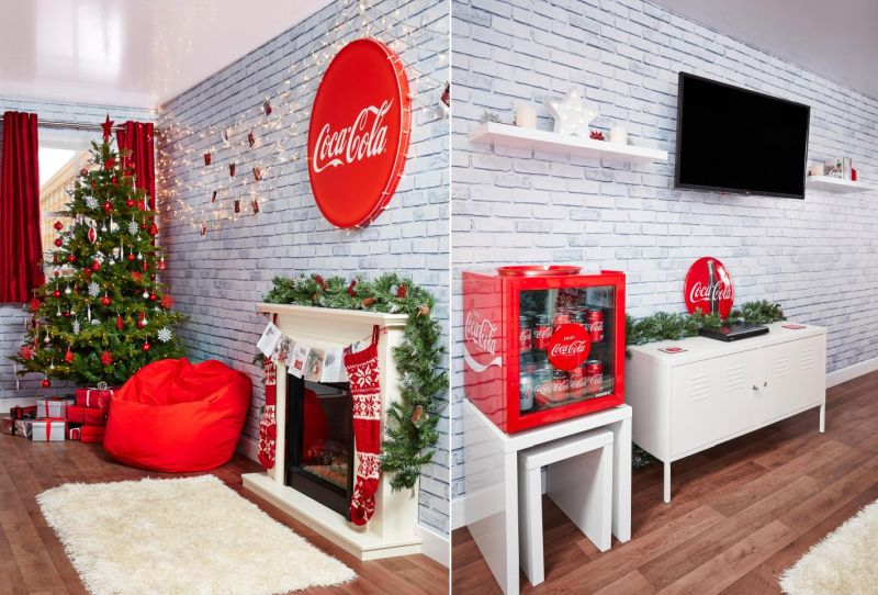 Spend a night in a furnished Coca-Cola Christmas truck this festive season