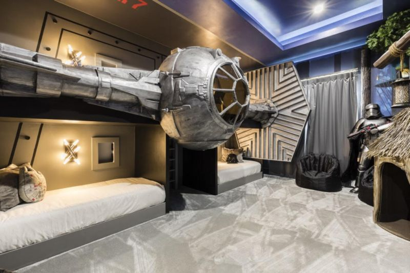 Star Wars Themed Bedroom At Exclusive Private Villas In