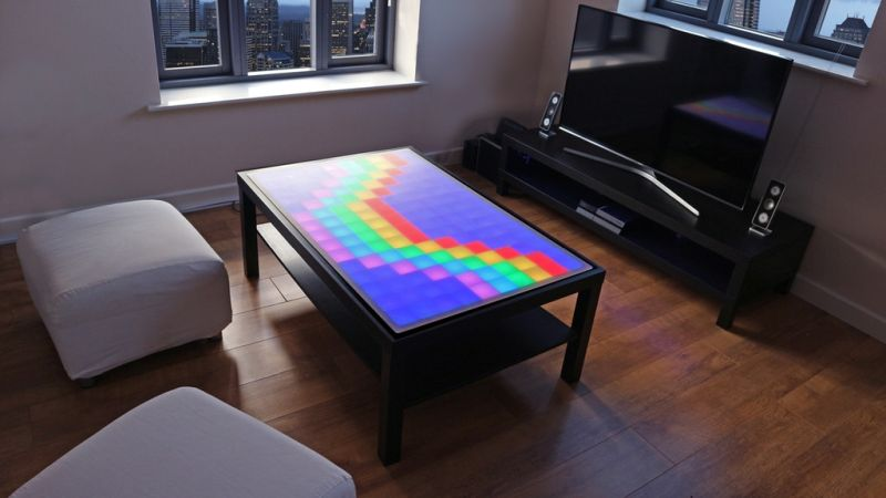 Stephane Baleon S Interactive Coffee Table Displays Animations Lets You Play