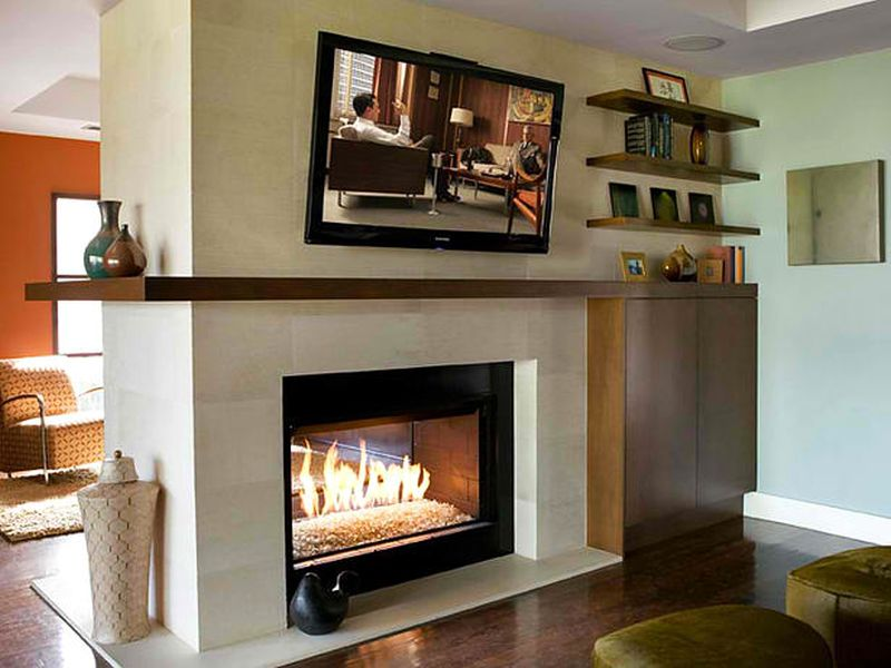 things you should consider before mounting your tv over fire