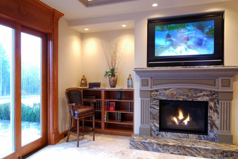 Planning to install TV over a fireplace? Here are a couple of things you need to consider before going all out to keep your expensive TV protected.