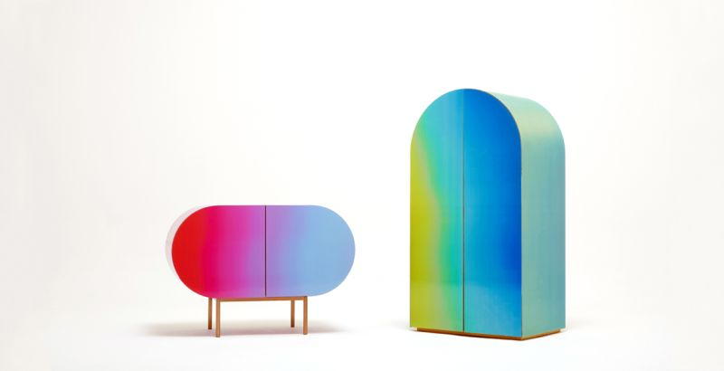 You'll never get bored of Orijeen's color-changing furniture