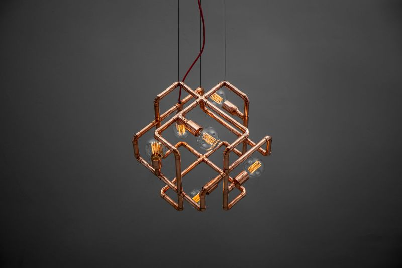 Mandalo Copper Ceilingm Lamp