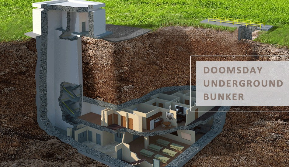 Why are the Rich Investing in Doomsday Underground Bunker? Zombie Proof House Plans Small on zombie proof home plans, zombie proof home designs, zombie proof house blueprints,