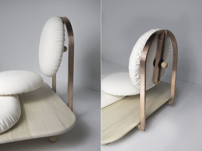 Asana Ground Chair by Mario Milana-2