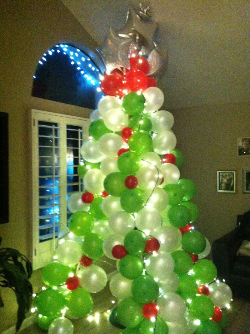 Balloon Christmas Tree