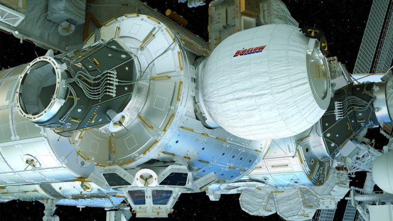 Bigelow's BEAM inflatable space habitat and CSS