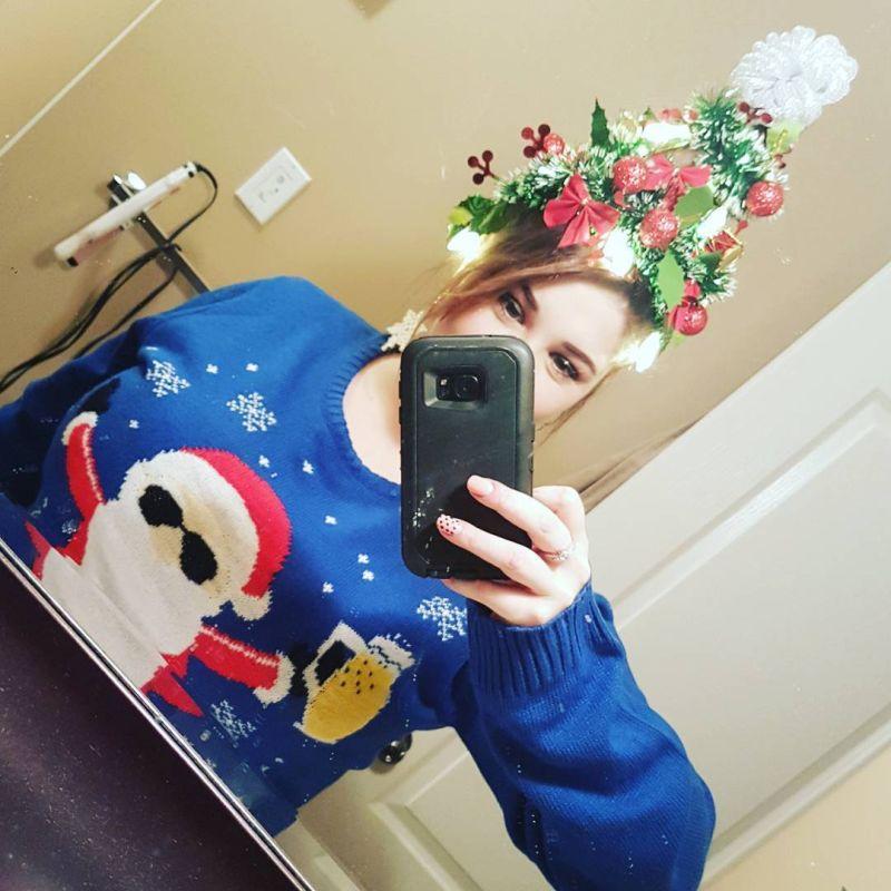 Christmas tree hairs
