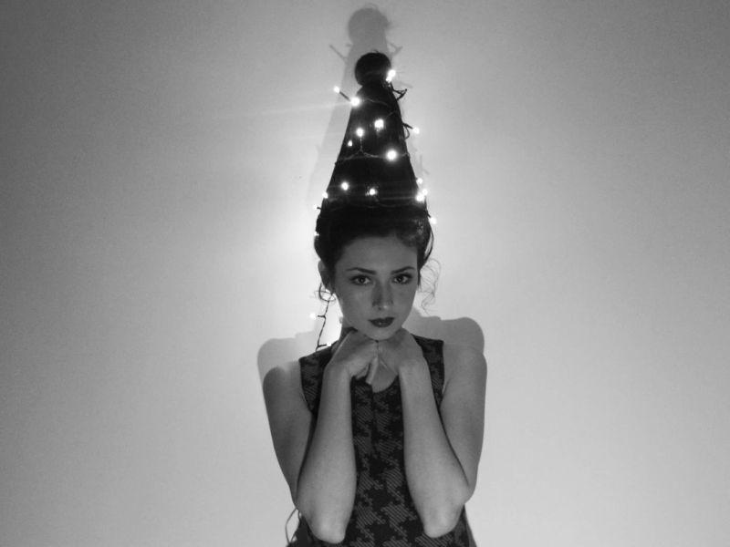 Christmas tree hairs trend