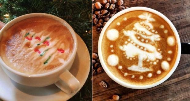 espresso latte art