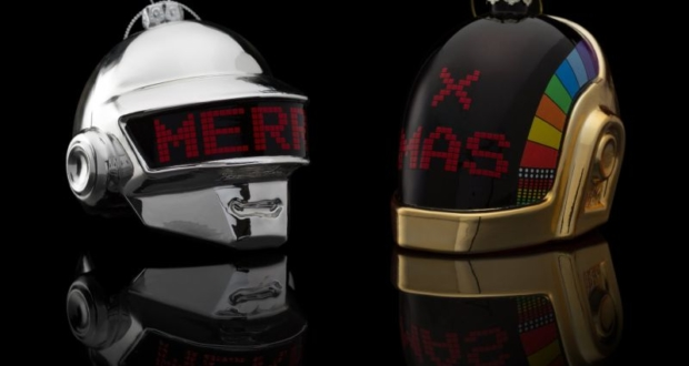 Limited Edition Christmas ornaments for Daft Punk fans