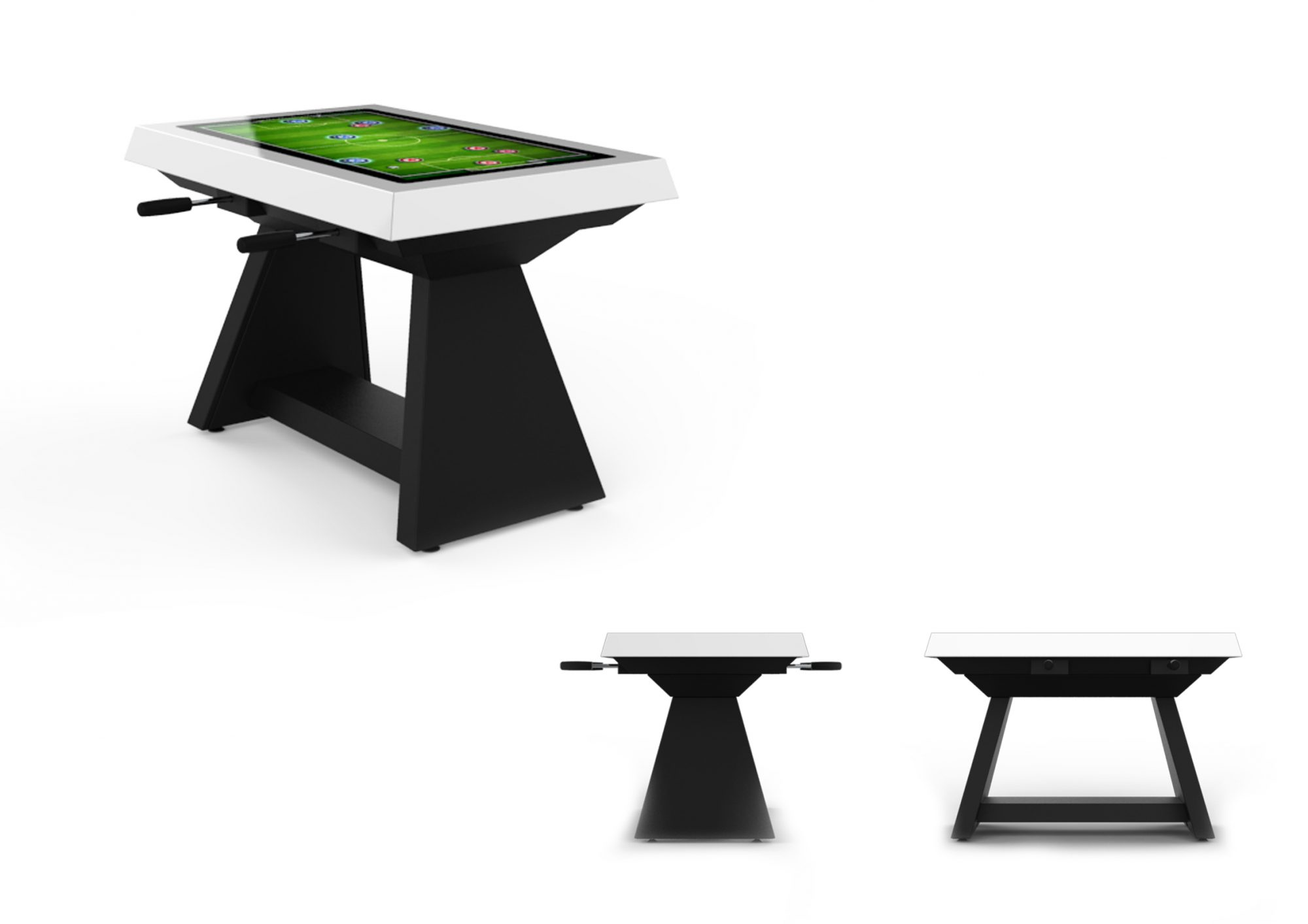 launches gaming table to enjoy digital foosball