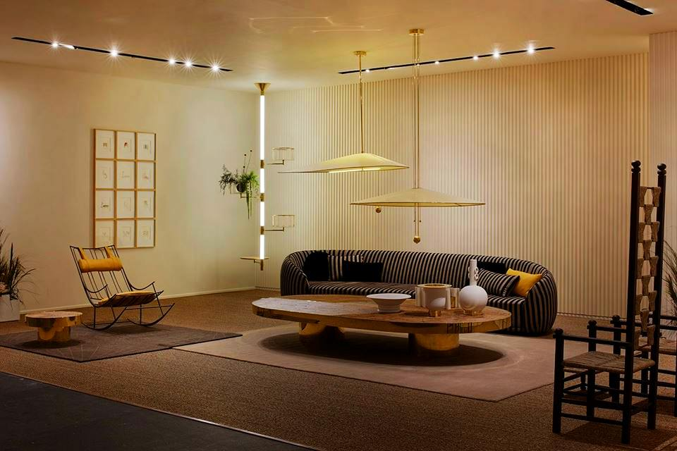 Fendi Welcome living room furniture collection by Chiara Andreatti at Design Miami 2017