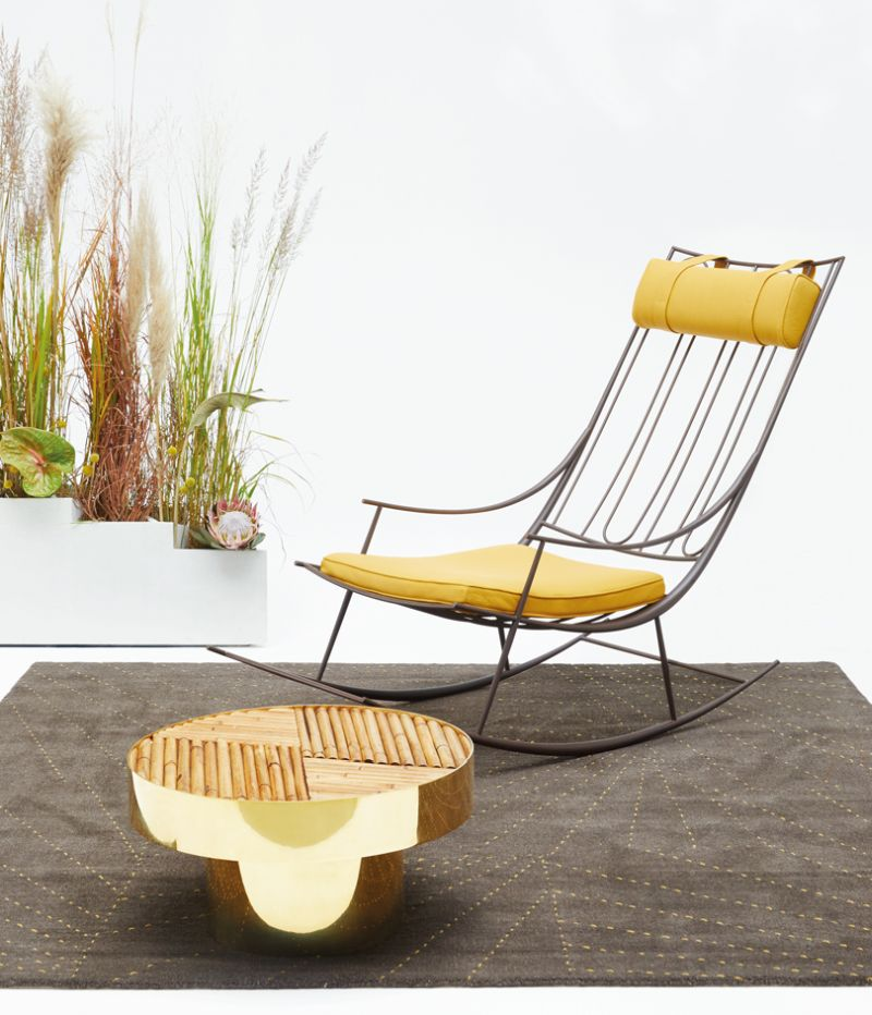 Finest fendi exhibits welcome living room furniture collection at design miami with fendi outdoor furniture
