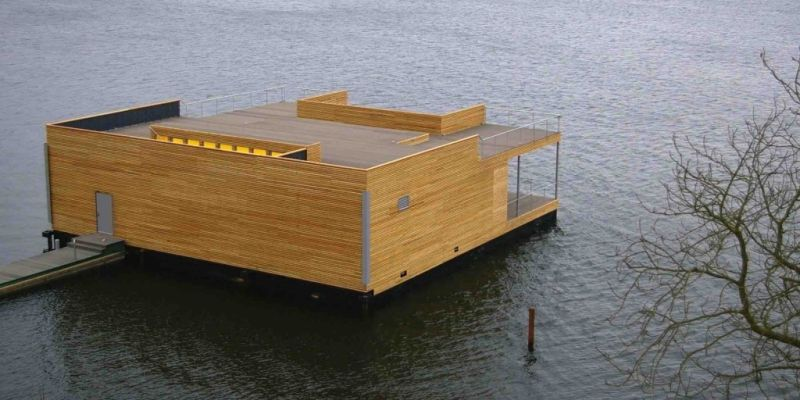 Floating Sauna Teglholm