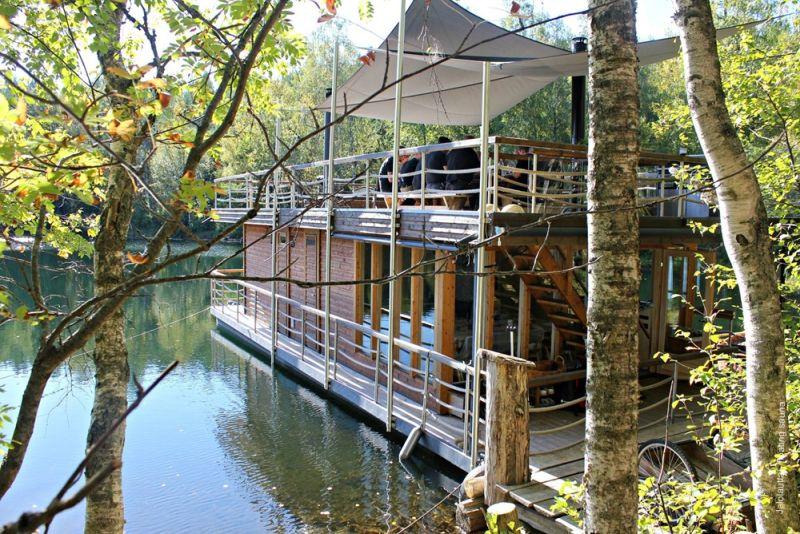 Floating sauna Helsinki