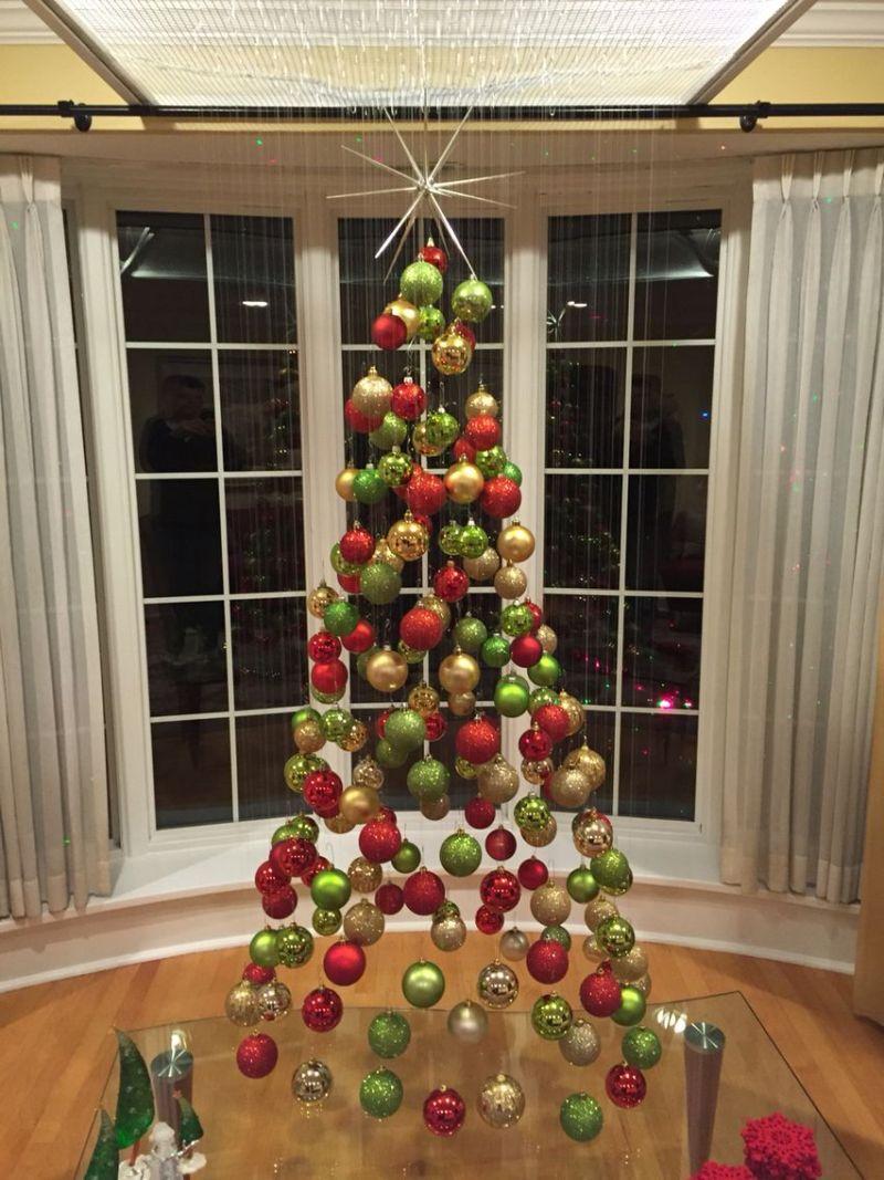 Hanging Christmas Tree Mobile