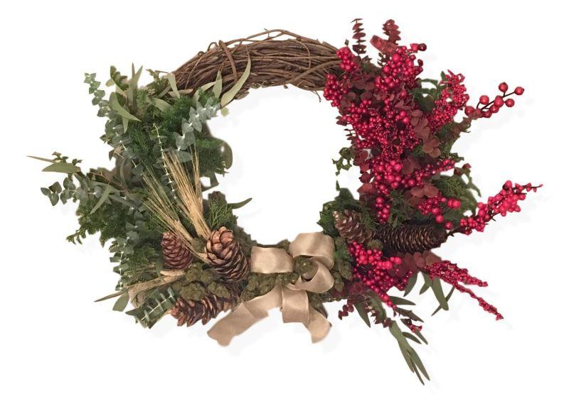Henrys Original Cannabis Wreath