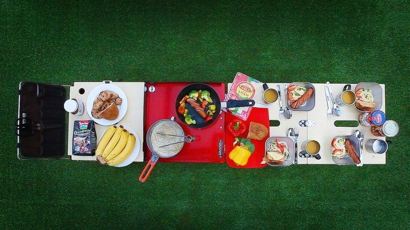Ikamper Eatout portable kitchen for your next camping trip