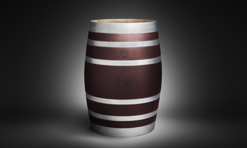 Loewe designs Bodega Numanthia wine barrel for wealthy collectors