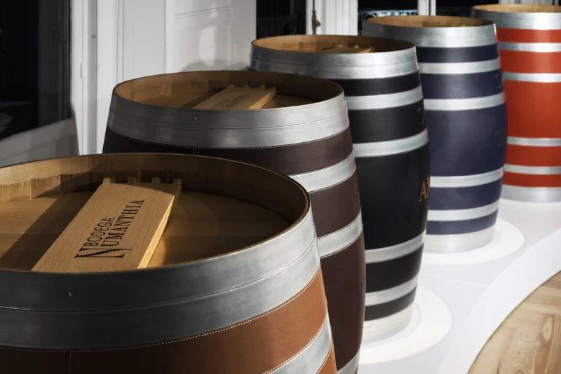Loewe designs Bodega Numanthia wine barrel for wealthy collectors
