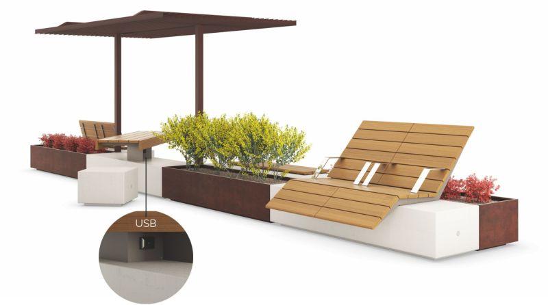 Metalco's modular urban furniture creates perfect urban ...