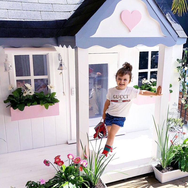 Millie-Belle Diamond owns world's most luxurious playhouse
