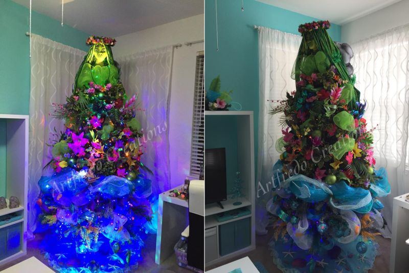 Hallmark 2016 Disney Moana ornament X | Disney christmas ... |Moana Themed Christmas Tree