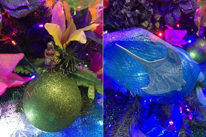 Moana-inspired Christmas tree-7