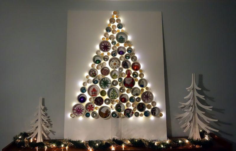 PVC pipe Christmas Tree