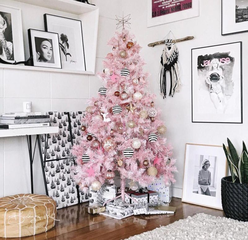 Why Do We Have Christmas Trees For Christmas: Pink Christmas Trees Are All The Rage This Year And We Are