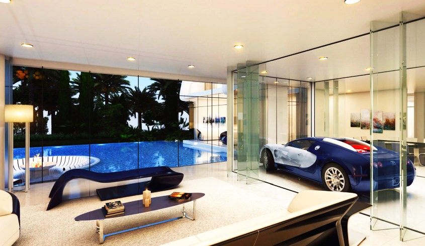 car in living room home crux smart home improvement and decor ideas 13752