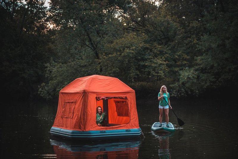 SmithFly Shoal inflatable raft tent-3