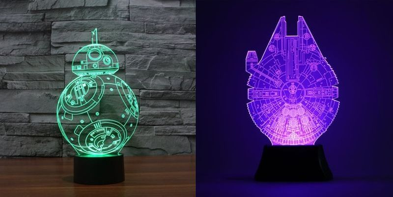 Star Wars 3D LED nightlight lamp