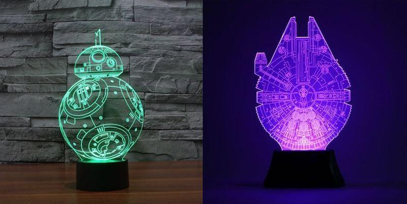 Star Wars 3D LED nightlight lamp
