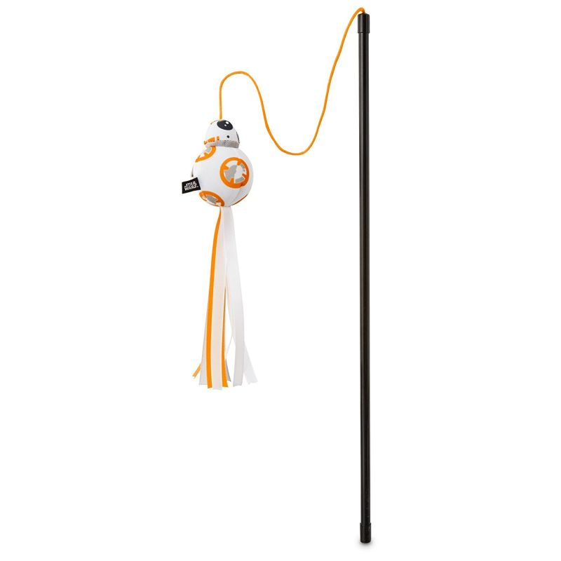 Star Wars BB-8 cat teaser wand