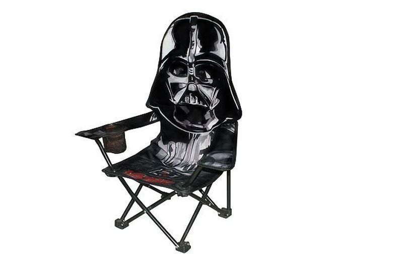 Star Wars Darth Vader folding camp chair