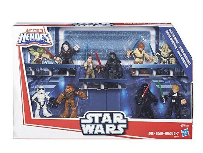 Star Wars Galactic Heroes Action Figures