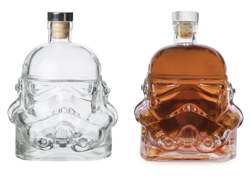 Star Wars Stormtrooper whiskey decanter