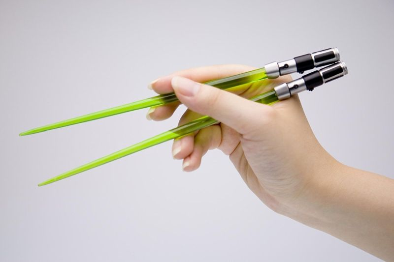 Star Wars Yoda EP6 Lightsaber chopstick