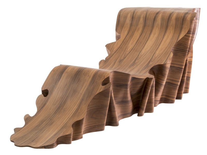 Stefano Maroll's UNA Chaise longue